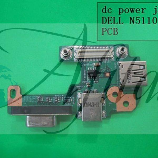 Įkrovimo USB plokštė Dell Inspiron 15R N5110
