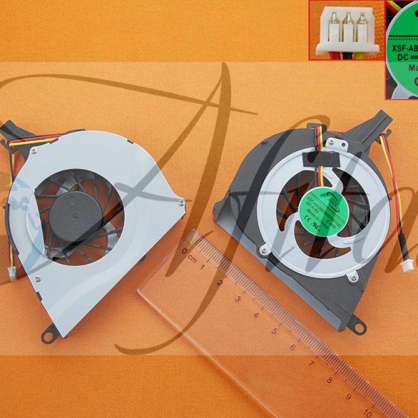 Toshiba Satellite L650 L650D L655 L655D nesiojamo kompiuterio procesoriaus ausintuvas