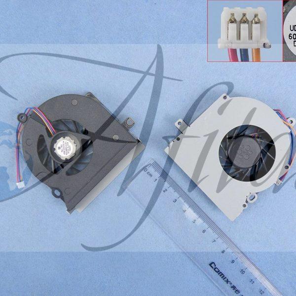 Toshiba Satellite L300 L305 L355 L355D A300 A305 procesoriaus ausintuvas