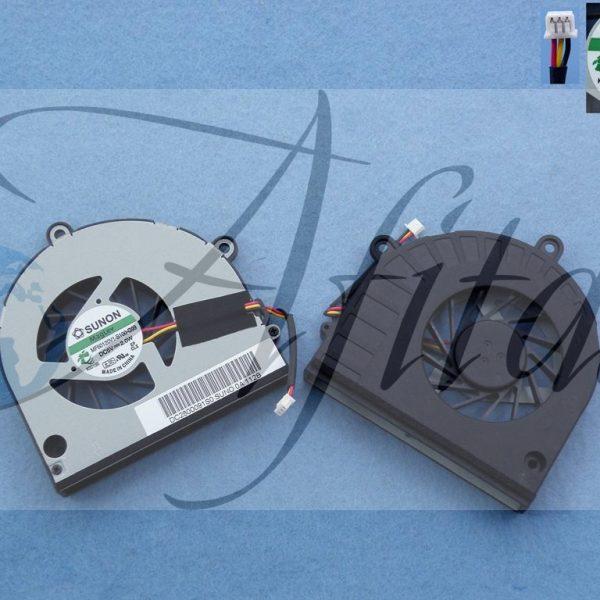 Toshiba C660 C665 C655 C650 A660 nesiojamo kompiuterio procesoriaus ausintuvas