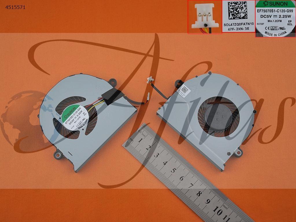Acer E5-571G E5-571 V3-572G kompiuterio aušintuvas