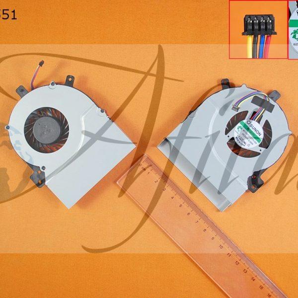Asus K55 K55V K55VD kompiuterio aušintuvas