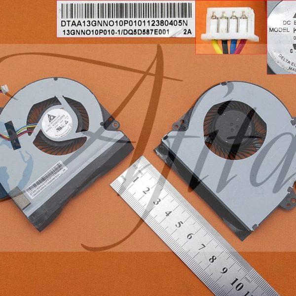 Asus X501 X501A kompiuterio aušintuvas