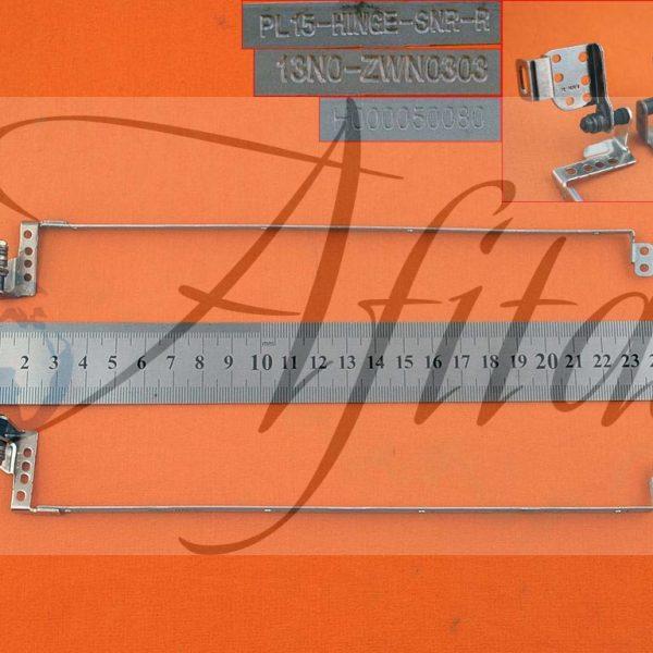 Ekrano vyriai lankstai Toshiba Satellite C850 C855 L850