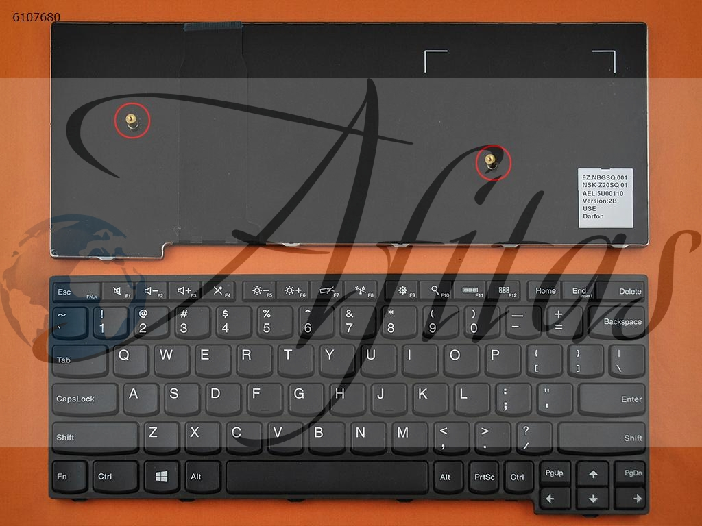 Lenovo Yoga 11E kompiuterio klaviatūra