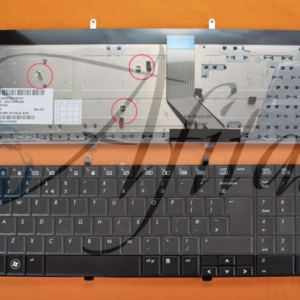 Klaviatūra HP DV7 DV7-2000 DV7-2100