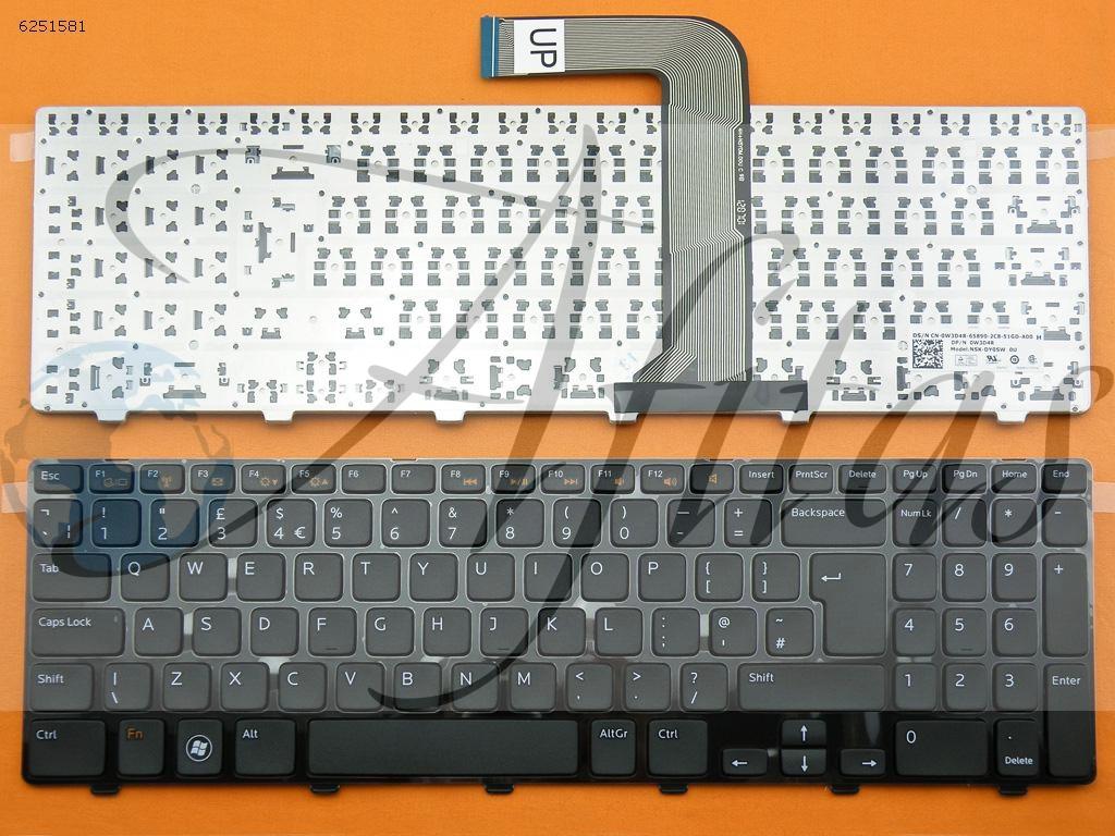 Klaviatūra Dell N5110 M5110