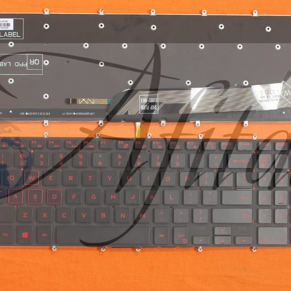 Kompiuterio klaviatūra Dell Inspiron Gaming 15-7566 7567 5567