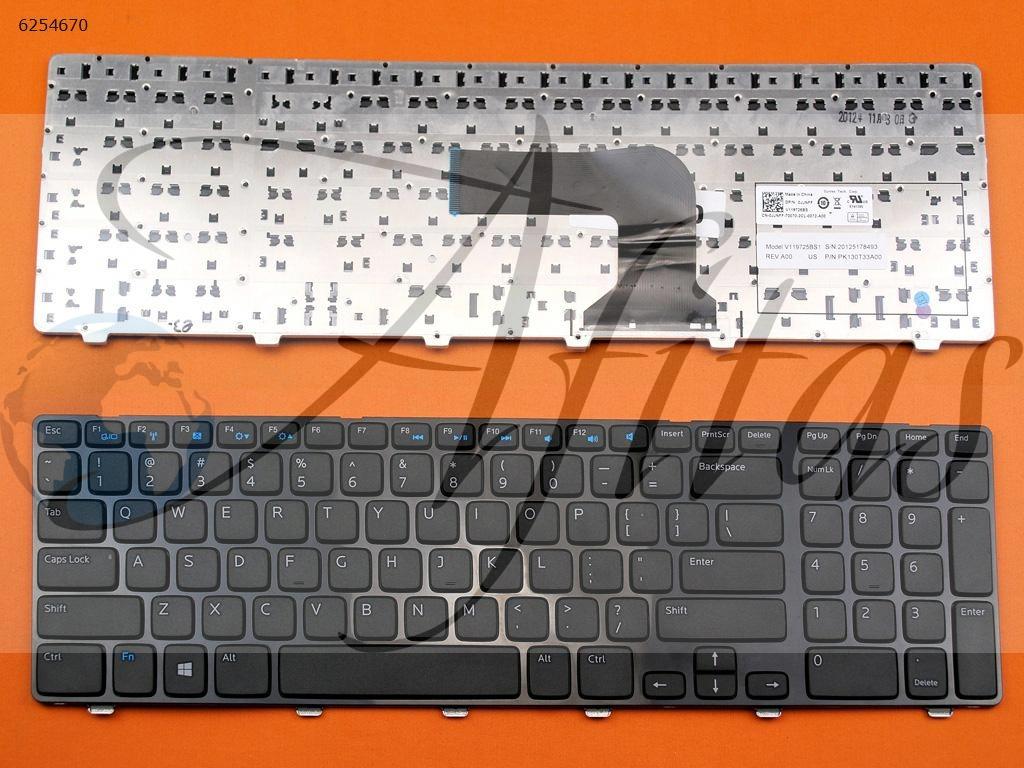 Kompiuterio klaviatūra Dell Inspiron 17R 5721 5735 5737