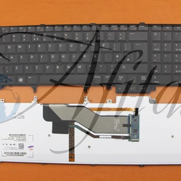 Klaviatūra Dell Latitude E5520 E5530 E6520 E6530