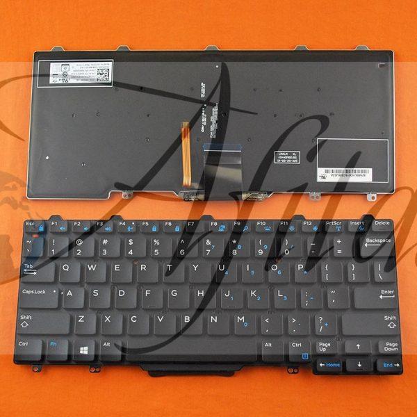 Kompiuterio klaviatūra Dell Latitude 13 7000 7350