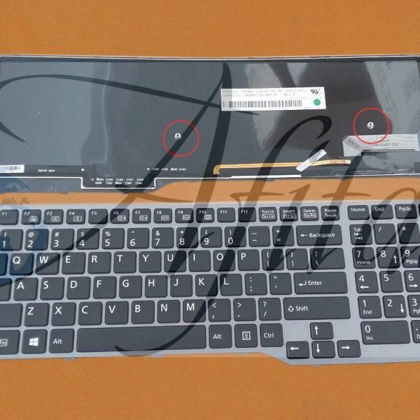 Fujitsu Lifebook E753 E754 klaviatura