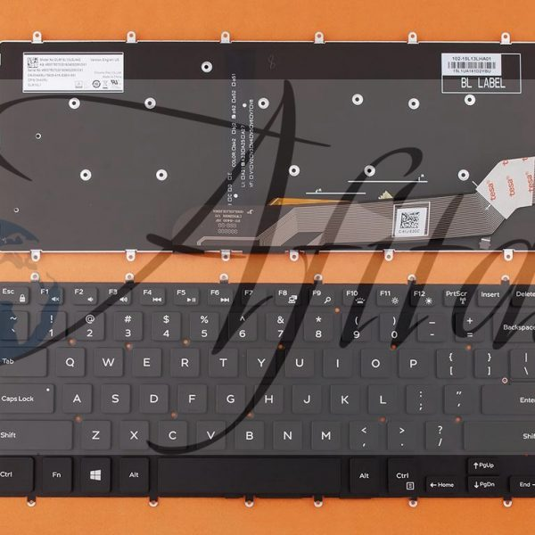 Dell Inspiron Gaming 14 7466 kompiuterio klaviatūra