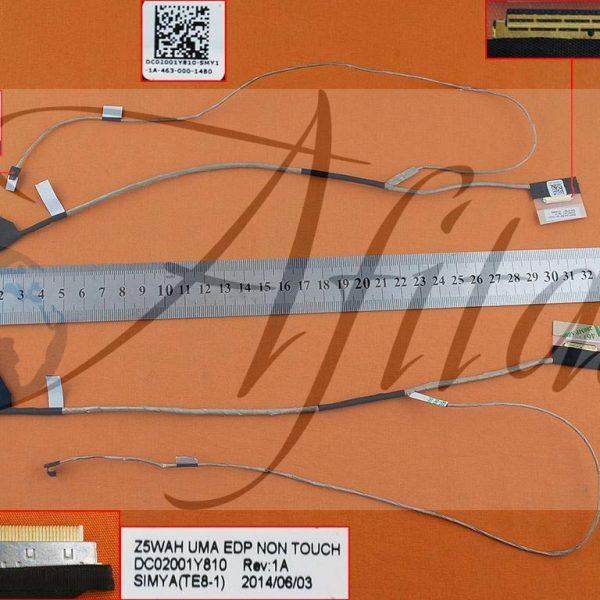 Ekrano kabelis Acer E5-571G E5-531 E5-531G E5-551 V3-572