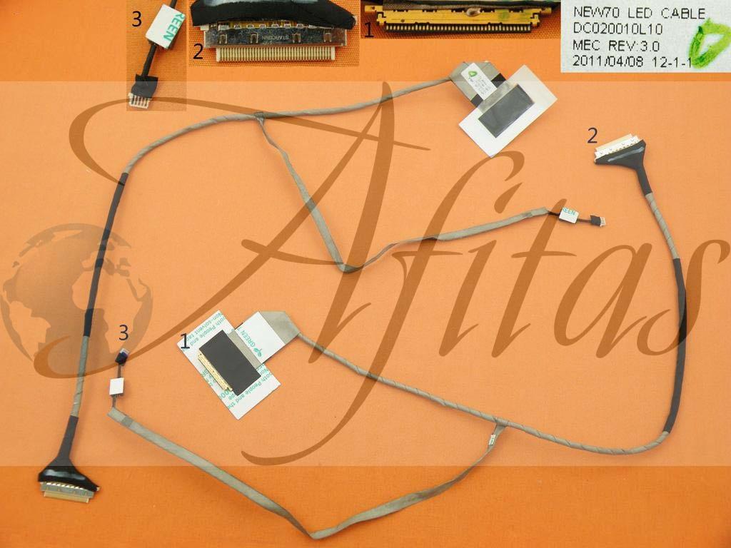 Ekrano kabelis Acer 5253 5336 5741 Gateway Nv59c Nv53