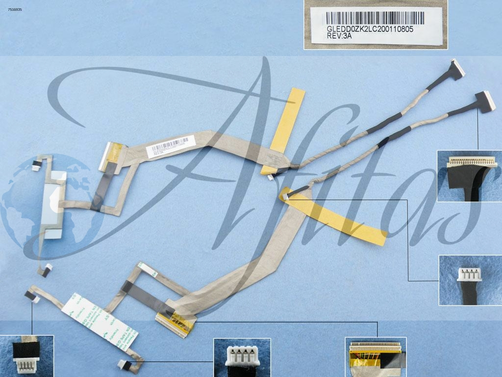 Ekrano kabelis ACER Aspire 6930 6930G