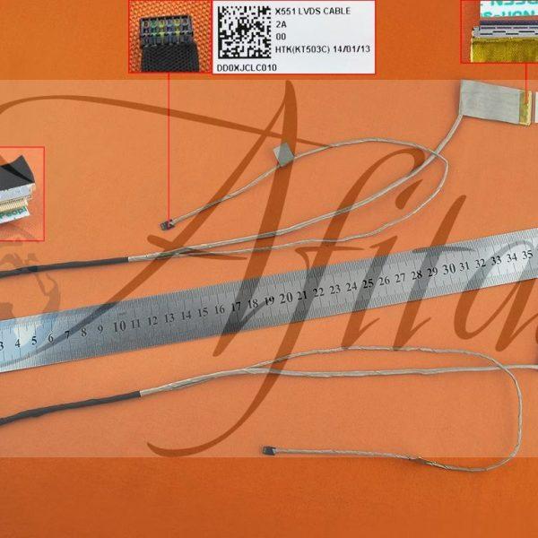 Ekrano kabelis Asus X551