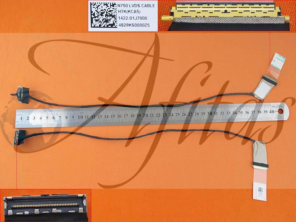 Asus N750 kompiuterio ekrano kabelis