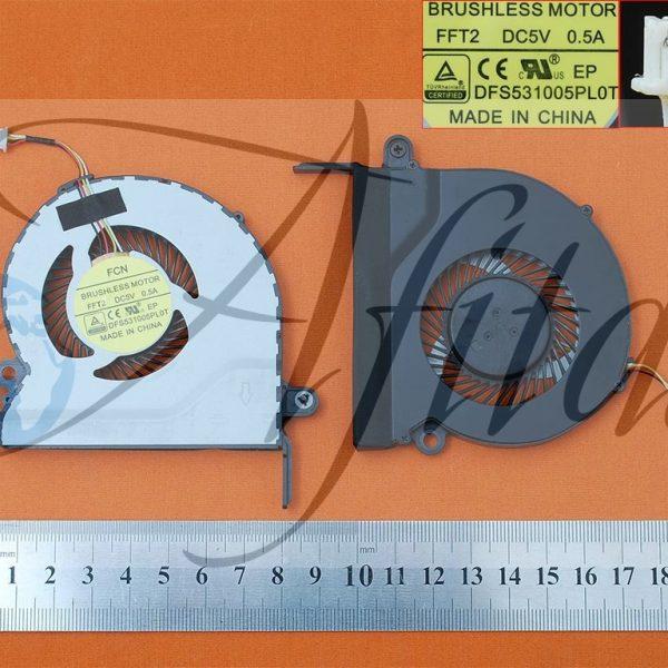 Acer Aspire E5-731 E5-731G kompiuterio aušintuvas
