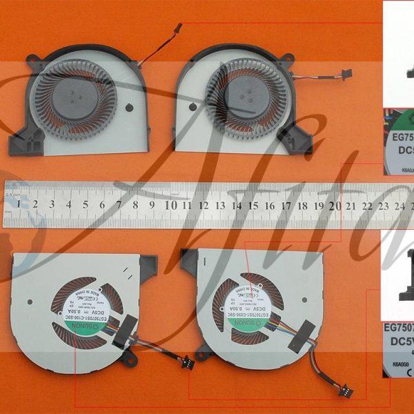 Acer Aspire V Nitro VN7-592 VN7-592G kompiuterio aušintuvas