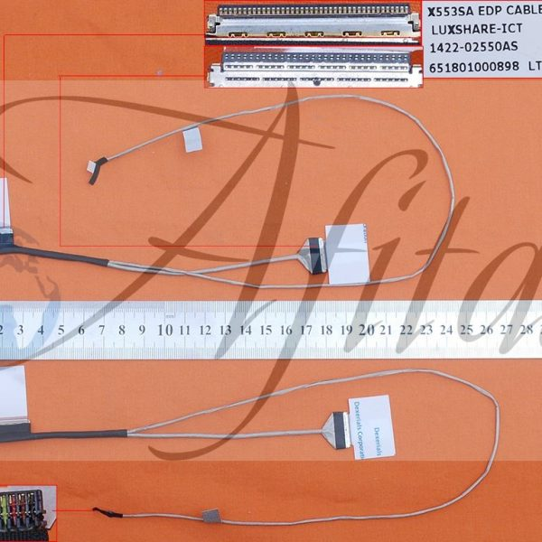 Ekrano kabelis ASUS X553SA X553M X553S X553MA X553 D553S D553SA