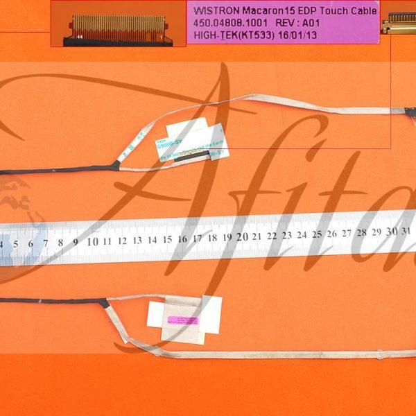 Ekrano kabelis HP 15-W001NA Envy M6-W M6-W000 M6-W102dx X360