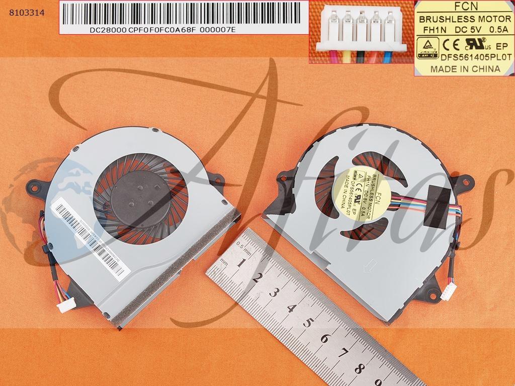 Lenovo Ideapad 300-14Isk 300-15Isk kompiuterio aušintuvas