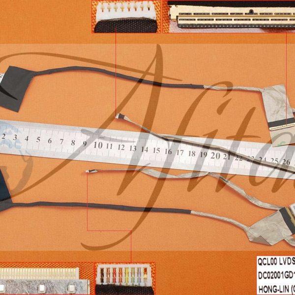 Ekrano kabelis Dell Inspiron 15R-5520 15R-7520 5520 5525 7520