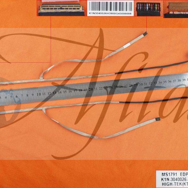Ekrano kabelis Msi Ge72 Pe70 Gt72s Msi1791