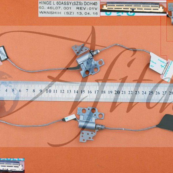 Ekrano kabelis Dell Inspiron 7437 su kairiuoju vyriu