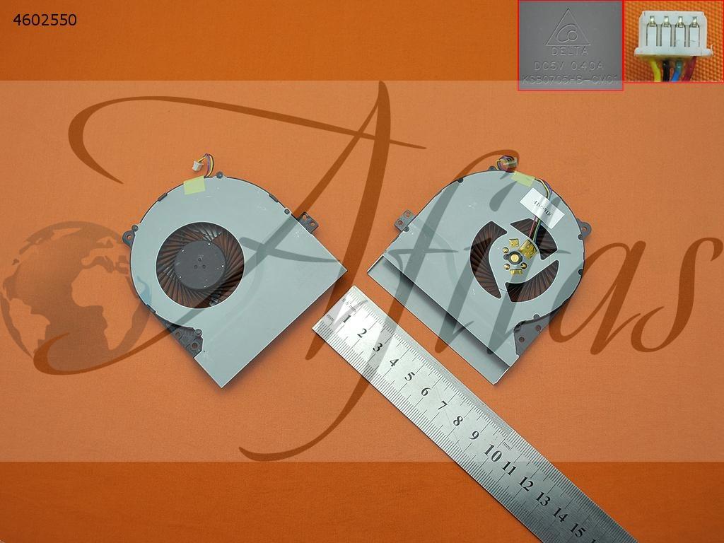 Asus X550 X550v X550c X550vc X450 X450ca Fan Ksb0705hb-Cm0 nesiojamo kompiuterio procesoriaus ausintuvas