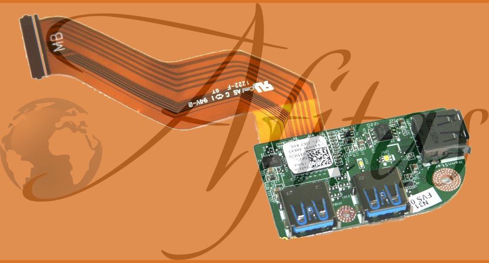 Dell L701x L702x kompiuterio USB 3.0 plokštė