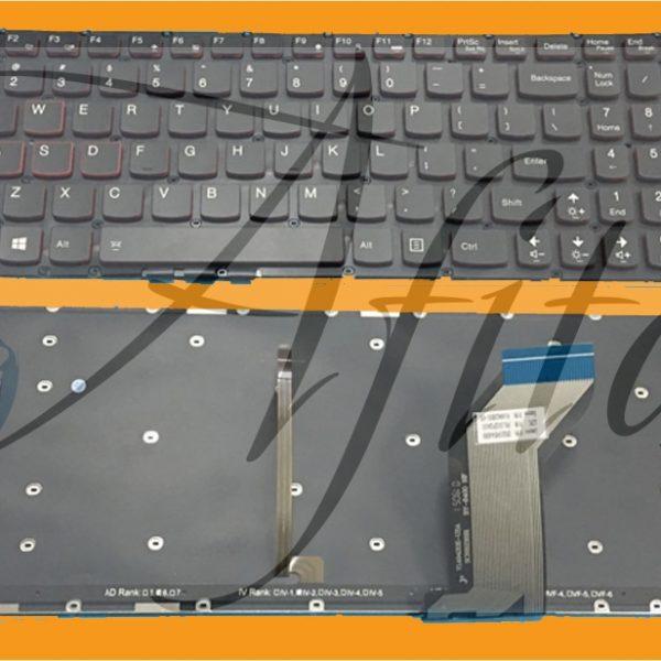 Lenovo Ideapad Y700 Y700-15ISK Y700-17ISK klaviatūra