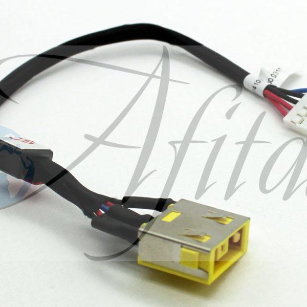 Įkrovimo lizdas su laidu Lenovo IdeaPad G500S G505S