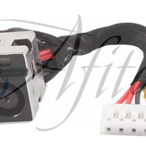 Įkrovimo lizdas su laidu Compaq Presario CQ50 CQ60