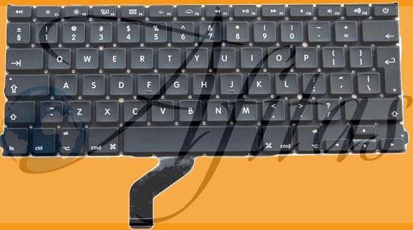 """Apple Macbook Pro 13"""" Retina A1425 kompiuterio klaviatūra"""