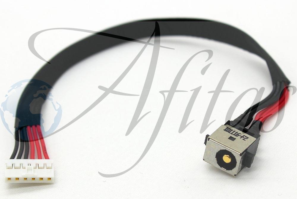 Įkrovimo lizdas su laidu Asus K56 K550